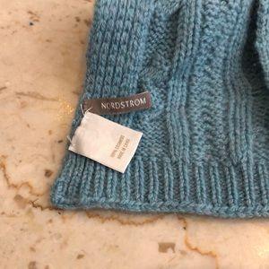 Nordstrom Accessories - Light blue cashmere scarf